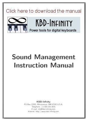 Sound Management manual